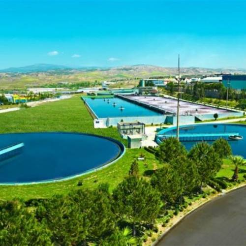 Denizli OIZ Wastewater Treatment Plant